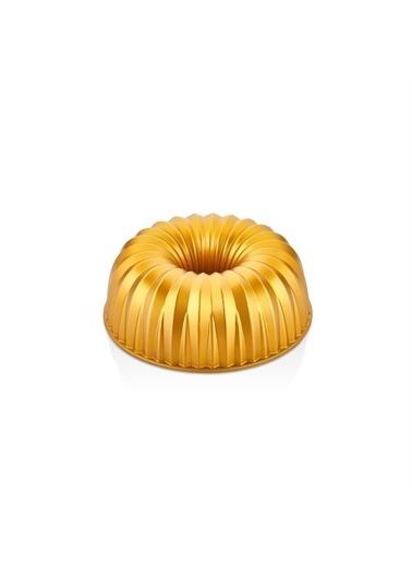 Bernardo Carla Döküm Granit Gold Kek Kalıbı Altın